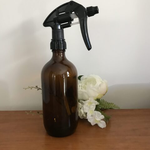 500ml Amber Spray Bottle