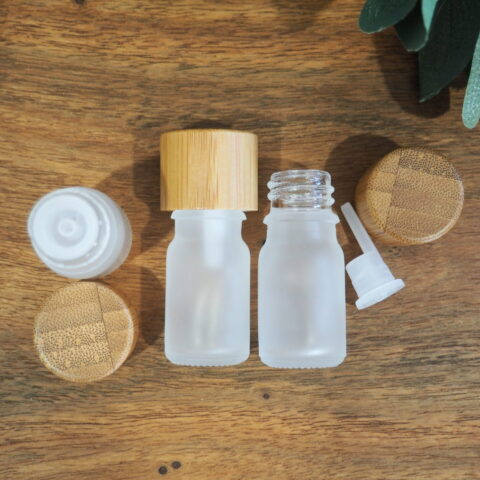 5ml Frosted Clear Dripolator Bottle
