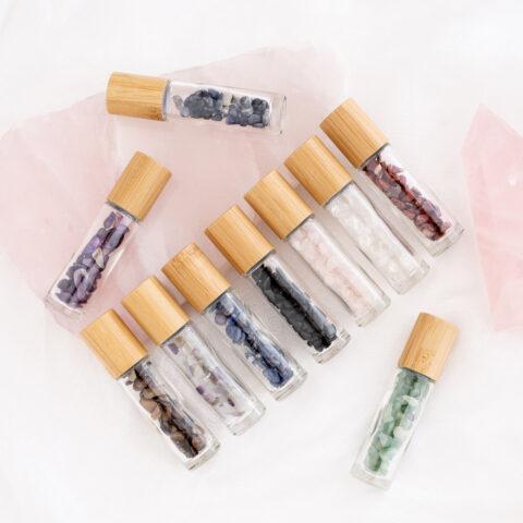 Gemstone Roller Bottles