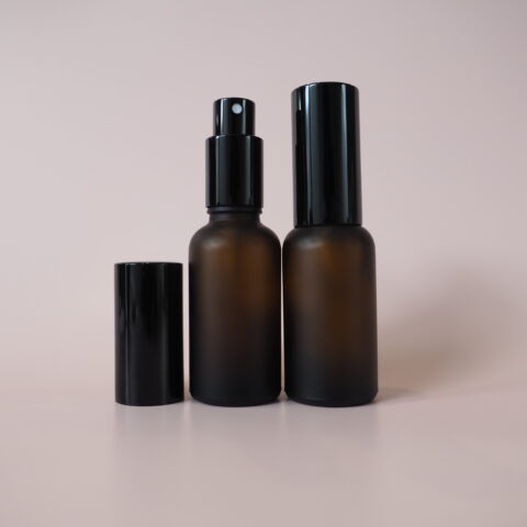 30ml Frosted Amber Spray Bottle