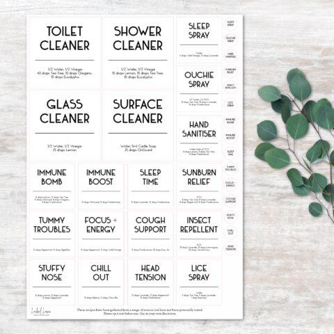 Plain & Simple Labels