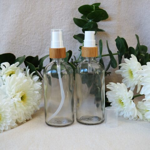 100ml Bamboo Pump Bottle