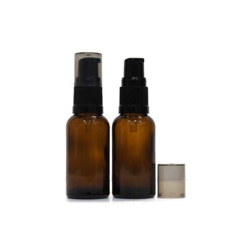 30ml Amber Pump Bottle