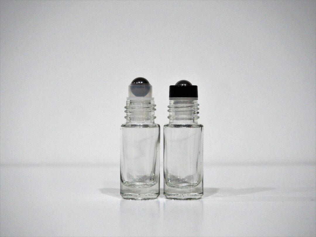 5ml Clear Roller Bottle