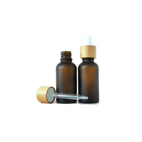30ml Frosted Amber Dropper Bottle