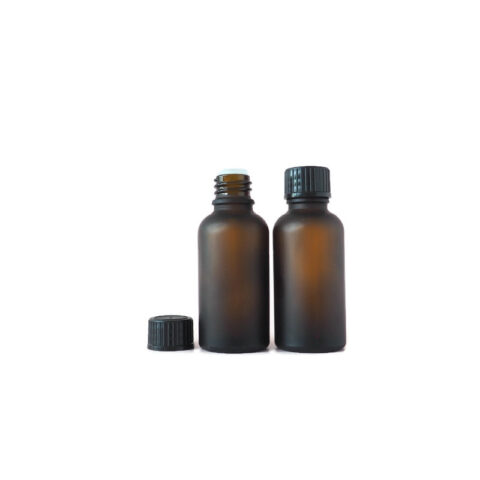 30ml Frosted Amber Drip Bottle