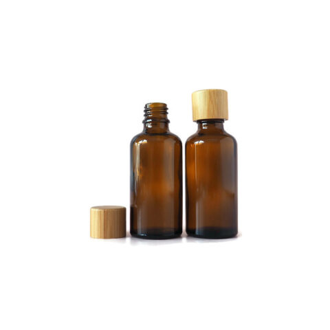 50ml Amber Drip Bottle