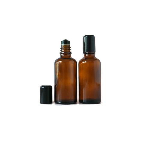 50ml Amber Roller Bottle