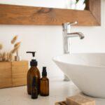 clean essential oil bottles
