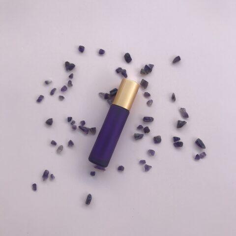 10ml Purple Roller Bottle