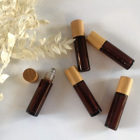 10ml Amber Roller Bottle