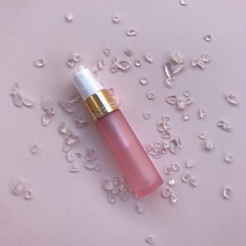 10ml blush pink spray bottle