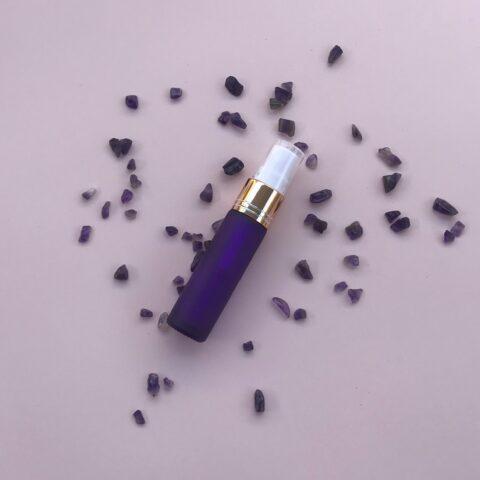 Frosted Purple Spray Bottle